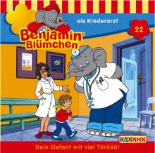 Elfie Donnelly: Benjamin Blümchen 022 als Kinderarzt, CD