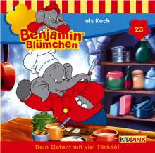 Elfie Donnelly: Benjamin Blümchen 023 als Koch, CD
