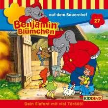 Elfie Donnelly: Benjamin Blümchen 027 auf dem Bauernhof, CD