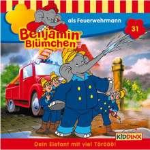 Elfie Donnelly: Benjamin Blümchen 031 als Feuerwehrmann, CD