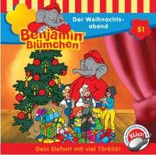 Elfie Donnelly: Benjamin Blümchen 051. Der Weihnachtsabend, CD