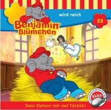 Elfie Donnelly: Benjamin Blümchen 053, CD