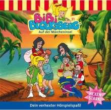 Elfie Donnelly: Bibi Blocksberg 31. Auf der Märcheninsel, CD