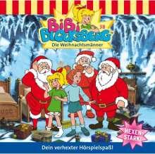 Elfie Donnelly: Bibi Blocksberg 38. Die Weihnachtsmänner, CD