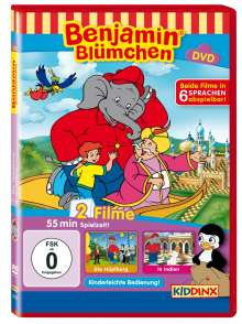 Benjamin Blümchen: Die Hüpfburg / ...in Indien, DVD