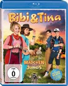 Bibi & Tina - Mädchen gegen Jungs (Blu-ray), Blu-ray Disc