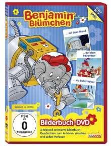 Benjamin Blümchen - ...auf dem Mond / ...auf dem Bauernhof / ...als Ballonfahrer (Bilderbuch-DVD), DVD