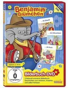 Benjamin Blümchen - ...als Sheriff / ...als Zirkusclown / ...als Koch (Bilderbuch-DVD), DVD