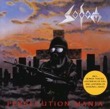 Sodom: Persecution Mania, CD
