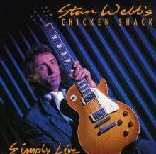 Chicken Shack (Stan Webb): Simply Live, CD