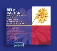 Bela Bartok (1881-1945): Klavierkonzerte Nr.2 & 3, 2 CDs