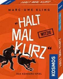 Marc-Uwe Kling: Halt mal kurz, Diverse