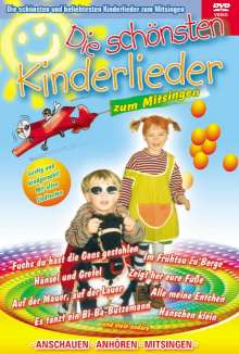 Die schönsten Kinderlieder, DVD
