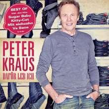 Peter Kraus: Dafür leb ich: Best Of Peter Kraus, CD