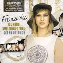 Franziska: 10 Jahre Sommergefühl: Ein Abenteuer, 2 CDs