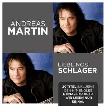 Andreas Martin: Lieblingsschlager, CD