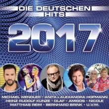 Die deutschen Hits 2017, 2 CDs