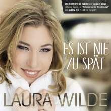 Laura Wilde: Es ist nie zu spät (Special-Edition) (White Vinyl), 1 LP und 1 CD