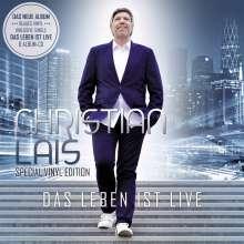 Christian Lais: Das Leben Ist Live (Special-Edition) (Blue Vinyl), LP