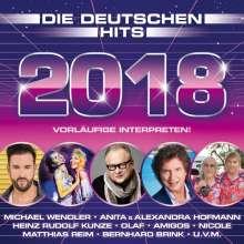 Die deutschen Hits 2018, 2 CDs