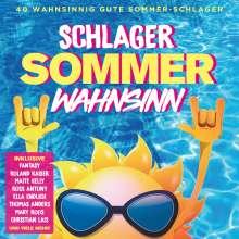 Schlager Sommer Wahnsinn, 2 CDs