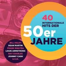 40 Internationale Hits Der 50er, 2 CDs