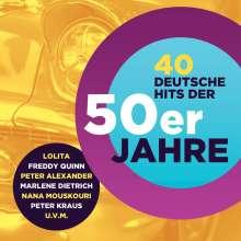 40 deutsche Hits der 50er, 2 CDs