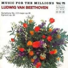 Ludwig van Beethoven (1770-1827): Sinfonie 2 D-Dur Op.36/, CD