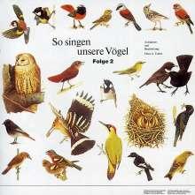 So Singen Unsere Vögel 2, CD