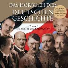 Hörbuch Der Dt.Geschich, 2 CDs