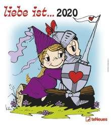 Kim Casali: liebe ist... 2020 Wandkalender, Diverse