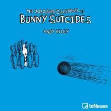 Andy Riley: Bunny Suicides 2020 Mini-Broschürenkalender, Diverse
