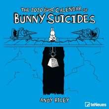 Andy Riley: Bunny Suicides 2020 Broschürenkalender, Diverse