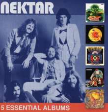 Nektar: 5 Essential Albums, 5 CDs