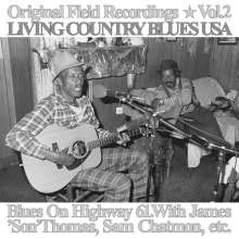 Blues On Highway 61: Original Field Recordings Vol. 2 - Living Country Blues USA, LP