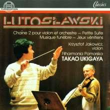 Witold Lutoslawski (1913-1994): Chain 2 f.Violine & Orchester, CD