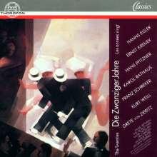 Musik im Berlin der 20er Jahre, CD