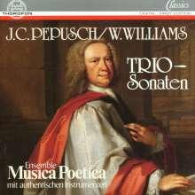 Johann Christoph Pepusch (1667-1752): 5 Triosonaten, CD