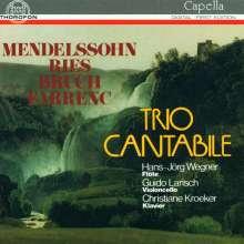 Ferdinand Ries (1784-1838): Trio für Flöte, Cello Klavier op.63, CD