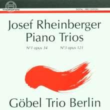 Josef Rheinberger (1839-1901): Klaviertrios Nr.1 & 3 (opp.34 & 121), CD