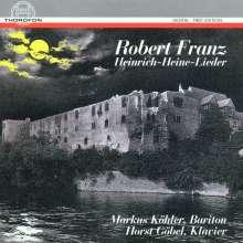 Robert Franz (1815-1892): 50 Heine-Lieder, CD