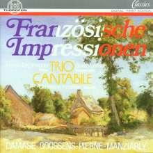 Trio Cantabile - Französiche Impressionen, CD