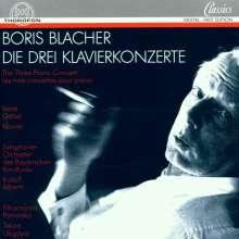 Boris Blacher (1903-1975): Klavierkonzerte Nr.1 & 2, CD