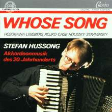 Stefan Hussong - Whose Song, CD