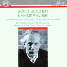 Boris Blacher (1903-1975): Streichquartett Nr.2, CD