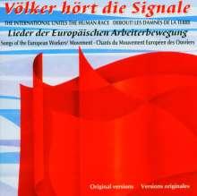 Lieder der europäischen Arbeiterbewegung, CD
