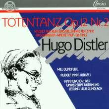 Hugo Distler (1908-1942): Totentanz f.Sprecher & Chor a cappella, CD