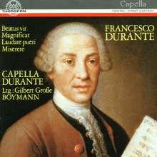 Francesco Durante (1684-1755): Geistliche Chorwerke, CD