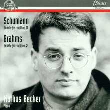 Johannes Brahms (1833-1897): Klaviersonate Nr.2 op.2, CD