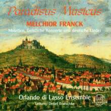 Melchior Franck (1580-1639): Paradisus Musicus, CD